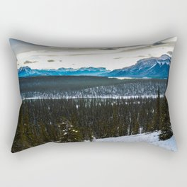 On route to Brule Alberta, Canada Rectangular Pillow