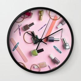 Still Life #1: Pink Wall Clock