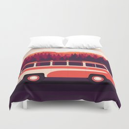 RAF-08 Spriditis (1958, Latvia, USSR) Duvet Cover