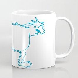 Ice Dog Coffee Mug