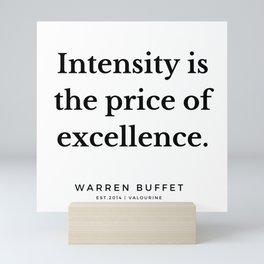 51     Warren Buffett Quotes   190823 Mini Art Print