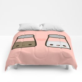 Cute salt and pepper Comforters