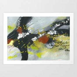 Colours of my mind by Australian Artist Vidy Potdar Art Print