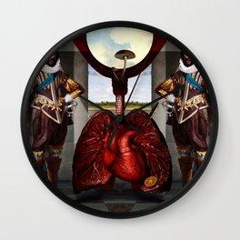 Boaz & Jachin Wall Clock