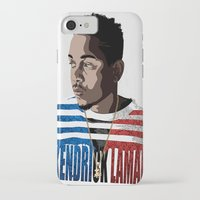 kendrick lamar iPhone & iPod Cases featuring Kendrick  by Tecnificent