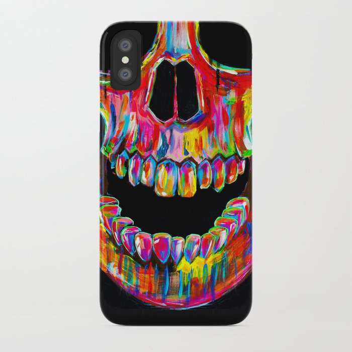 Chromatic Skull iPhone Case