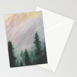 Sunset Pines Stationery Cards