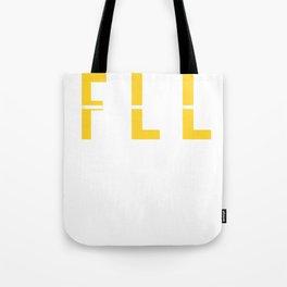 FLL - Fort Lauderdale Airport Florida - Airport Code Souvenir or Gift Design  Tote Bag
