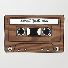 Retro Cassette Tape Rug