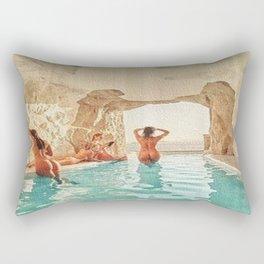 Natural Pool Rectangular Pillow