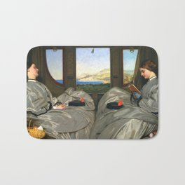 Augustus Leopold Egg The Travelling Companions Bath Mat