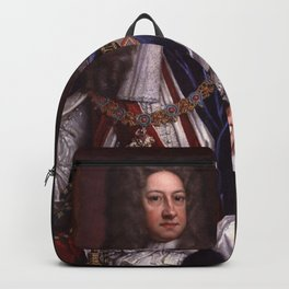 King George I portrait Backpack