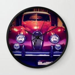 1956 Jaguar Wall Clock