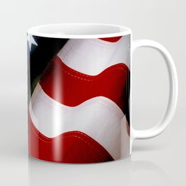 Waving American Flag Coffee Mug