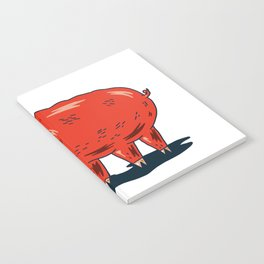 Haifa Pig Notebook