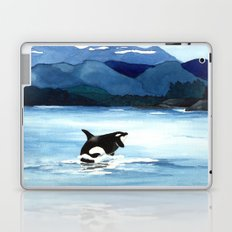 Orca Breach Laptop & iPad Skin