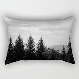Transylvanian Pines Rectangular Pillow
