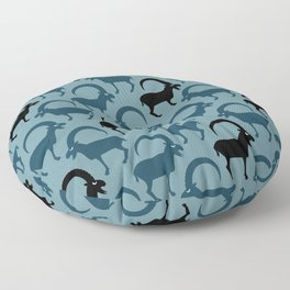 Angry Animals - Ibex Floor Pillow