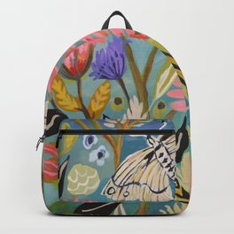 Butterfly Floral Backpack