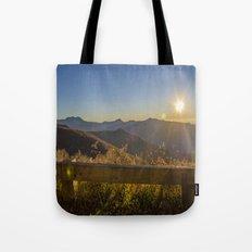 Sunrise on the Blue Ridge #2 Tote Bag