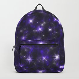 Ultra Violet Stars in a Purple Galaxy Backpack