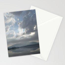 Misty Morning On Long Lake Stationery Cards