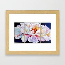 """Large Peony"" Framed Art Print"
