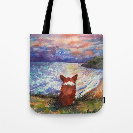 Corgi - sunset adorer by lifeandstyle