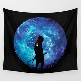 Sasuke Silhouette Uchiha Wall Tapestry