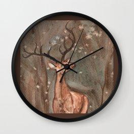 Orange Sky Wall Clock