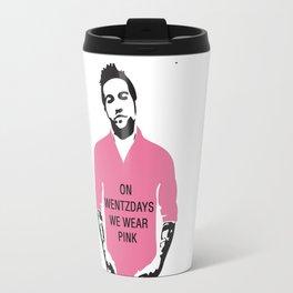 On Wentzdays we Wear Pink Travel Mug