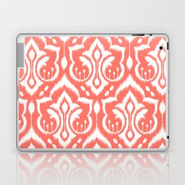 Ikat Damask Coral Laptop & iPad Skin