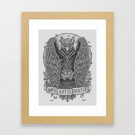 Ars Artis Gratia Framed Art Print