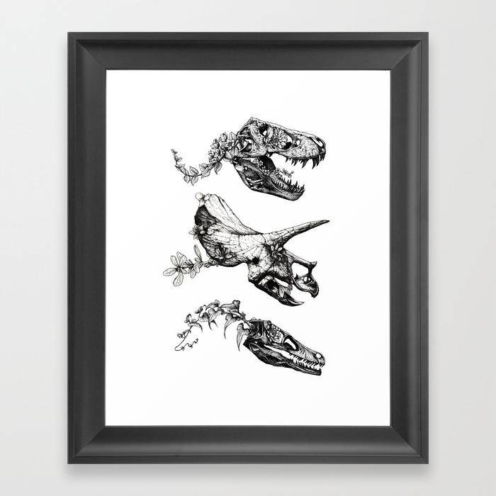 Black White Framed Art Prints Society6