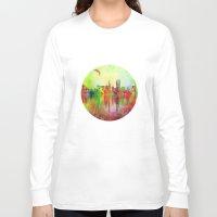 san francisco Long Sleeve T-shirts featuring san francisco by mark ashkenazi