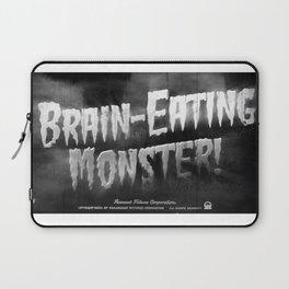 """""""Brain-Eating Monsters"""" Laptop Sleeve"""
