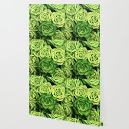 Green Roses Wallpaper