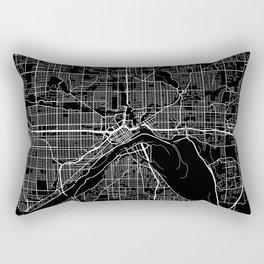 saint paul map minnesota Rectangular Pillow