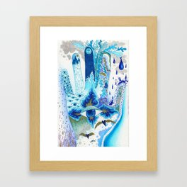 Hand of Protection Framed Art Print