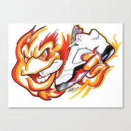 Fire Reds Canvas Print