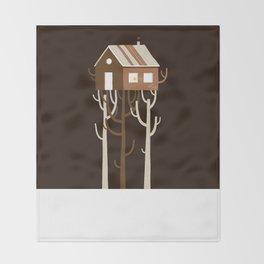 Treehouse Throw Blanket