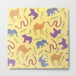 Animal colorfulness Metal Print