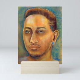 Kendrick Lamar Portrait Mini Art Print