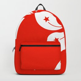 Flag of hong kong Backpack