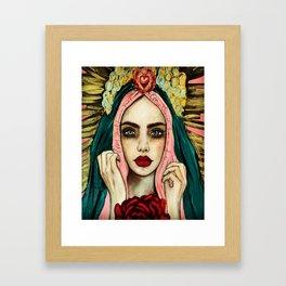 Every saint has a past , very sinner has a future Framed Art Print
