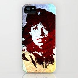 Jaggervara (or when Mick met Che) iPhone Case