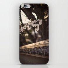 Sakura in Kyoto, Higashiyama 2015 iPhone & iPod Skin