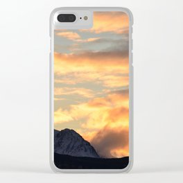 Good Morning Last Frontier! Clear iPhone Case