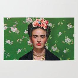 Frida Kahlo Flowery Rug