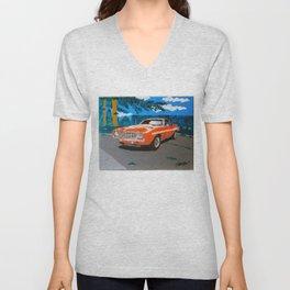 Chevy Camaro Yenko Unisex V-Neck